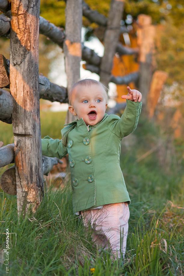 Fotka dziecka. Fotograf w Olsztynie.
