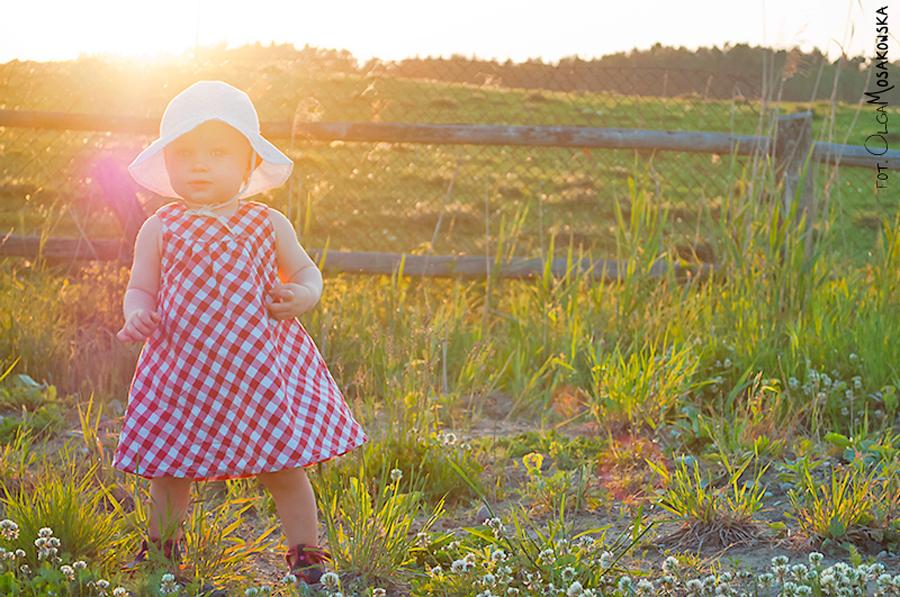 Sesja zdjÄ™ciowa dziecka w plenerze, fotograf Olsztyn.