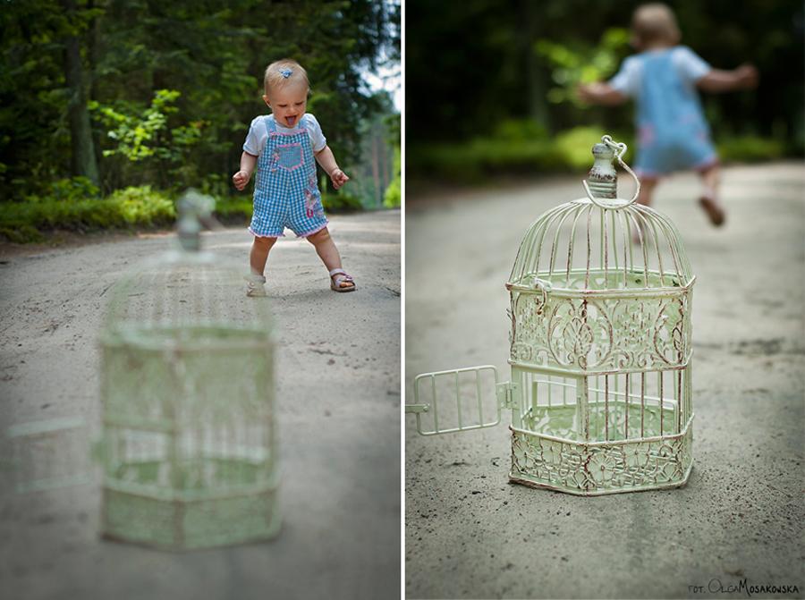 Profesjonalna sesja zdjęciowa dla dzieci. Plener, las Olsztyn.