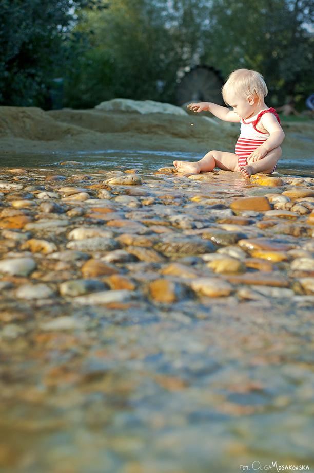 Zdjęcia dzieci na plaży. Fotografin Wien.